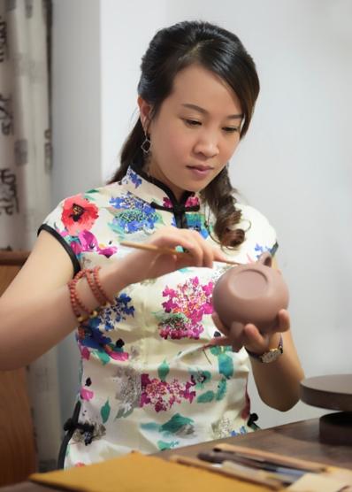 王菊芳紫砂壶作品欣赏