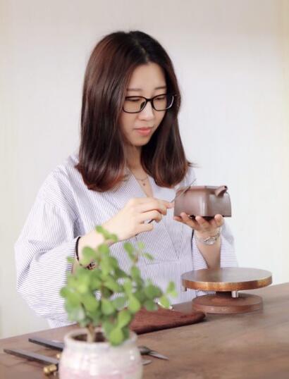 刘璐和她的紫砂壶艺术